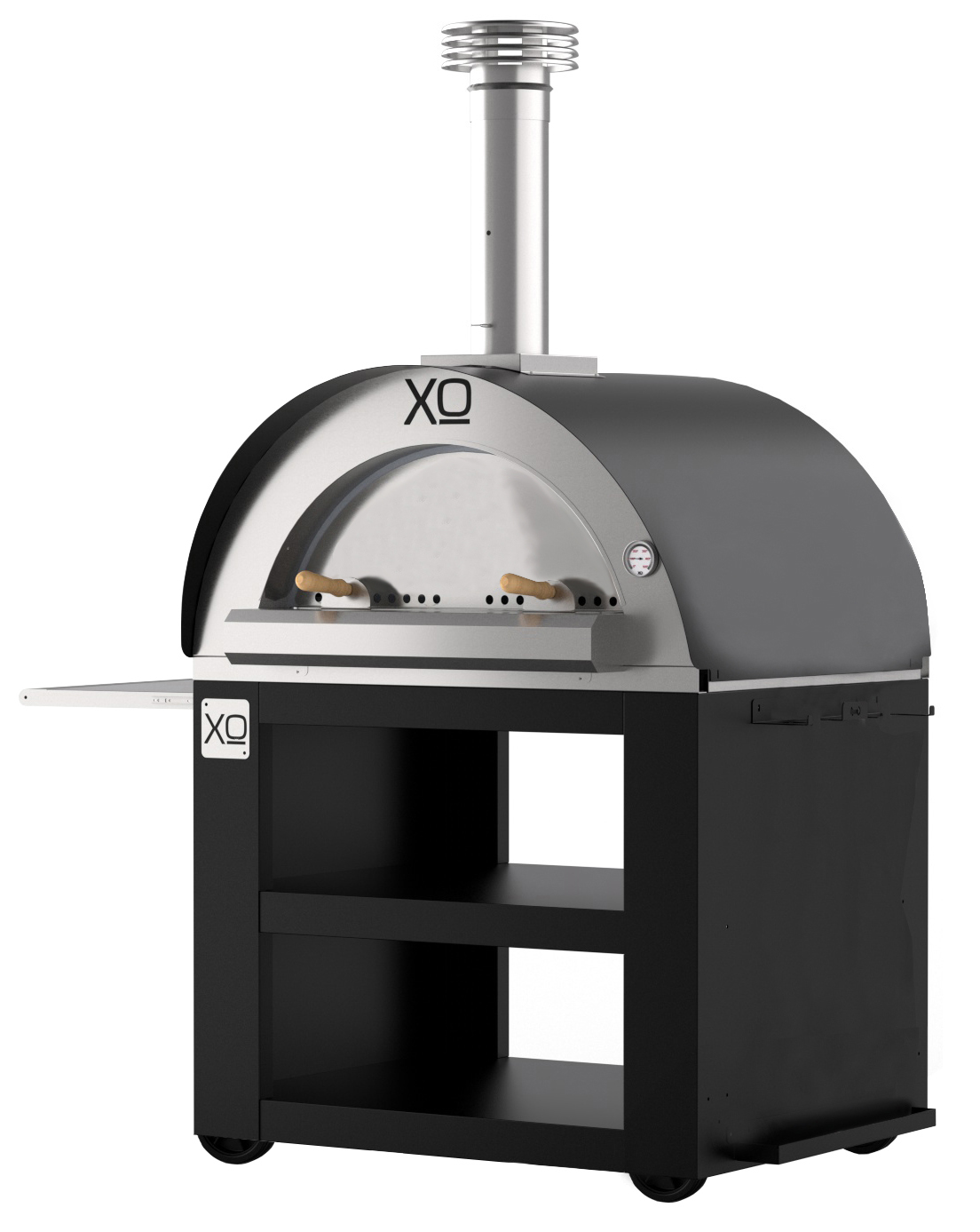XO Appliances Pizza Oven Cart Carbone (Charcoal)